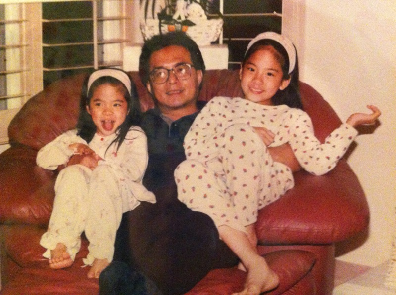[PRE-DEBUT] 120618 Amber with Her Sister & Father [1P] | f ... F(x) Amber Pre Debut